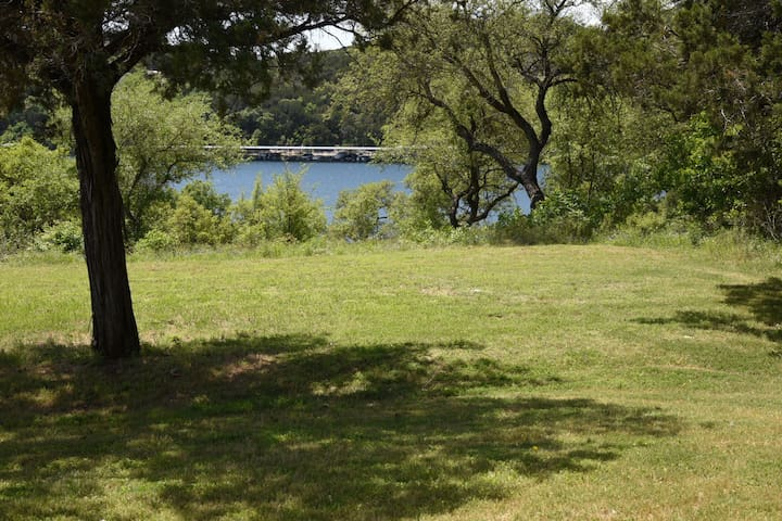 Waterfront lake Travis home available