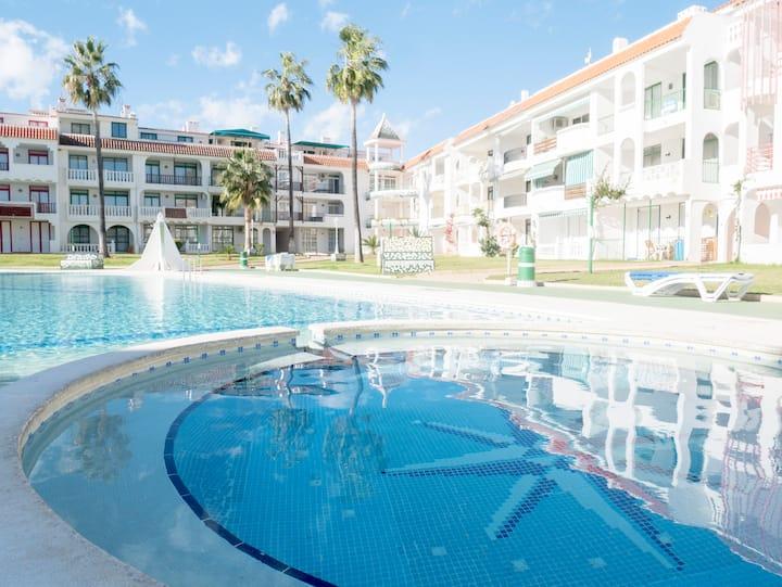 Playa Romana Village 1 dormitorio vista piscina