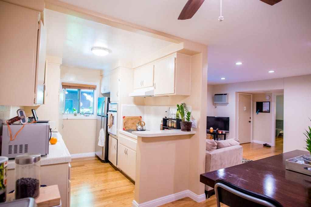 the kitchen / dining