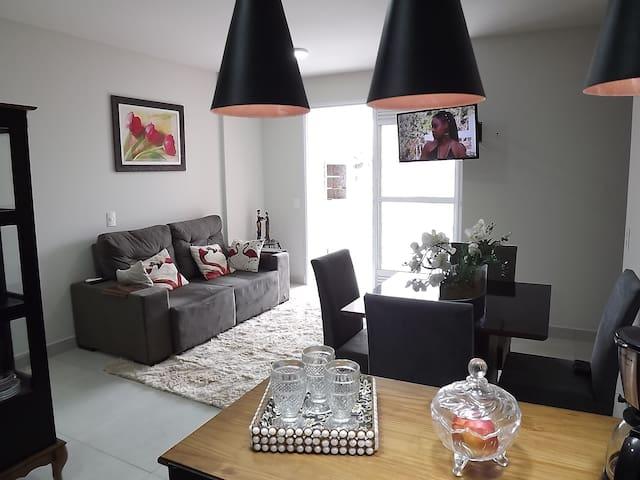 Apartamento novo e super completo!