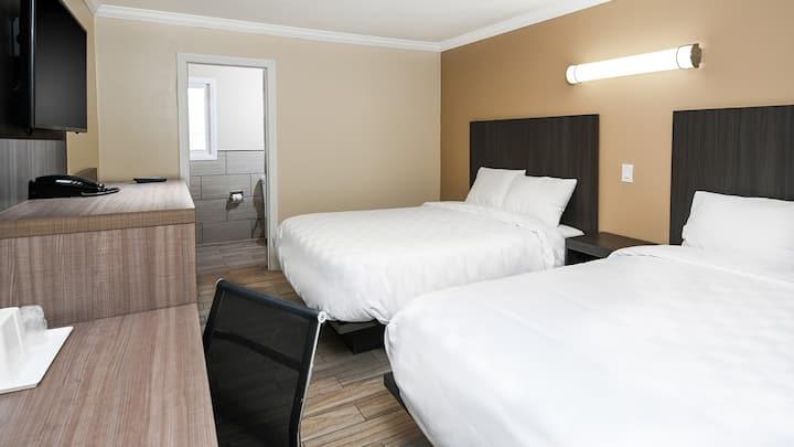 2 Beds - Hotel Sea Rock Inn - Long Beach