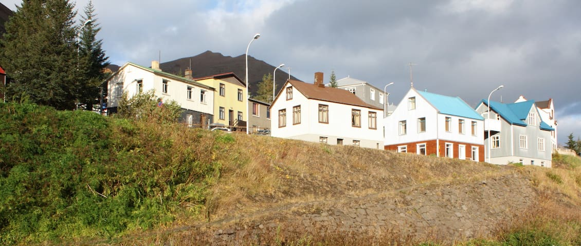 House with a soul in North Iceland - Siglufjörður - Huis