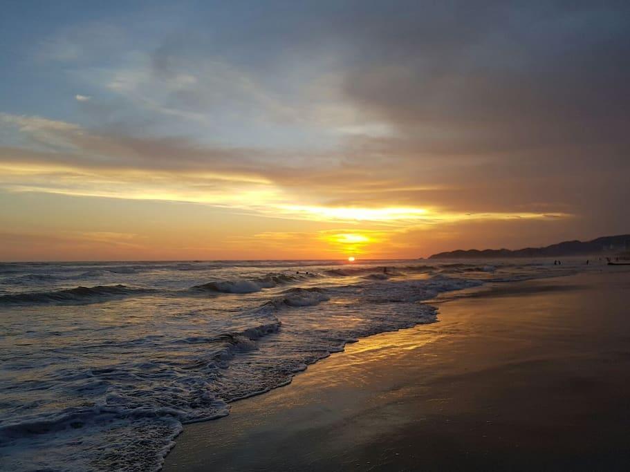 Playa Bonfil.