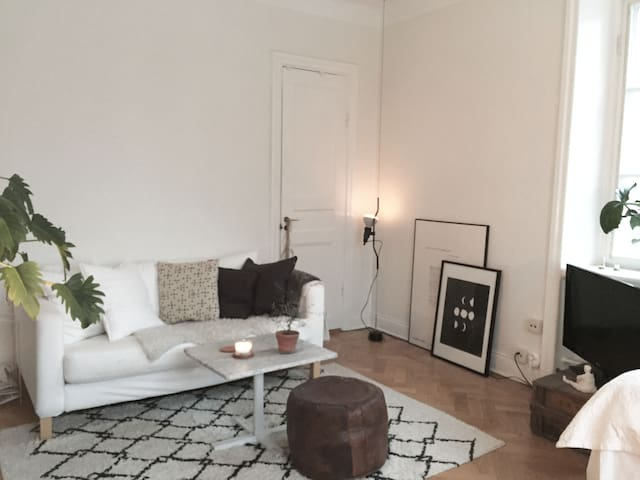 Bright studio in trendy Hornstull - Stockholm - Apartment