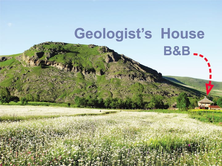 Geologist's House B&B.  Studio Room.