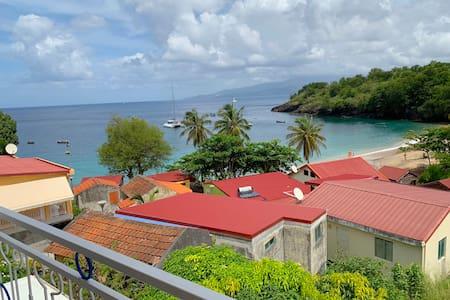 Anse Dufour : Appartement F3 avec vue mer