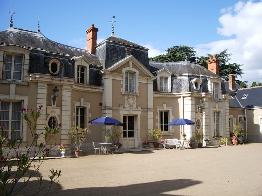 Cours d'honneur du château de Colliers