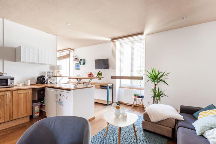 Løvely T2 au cœur de Narbonne !! - Narbonne - Apartment