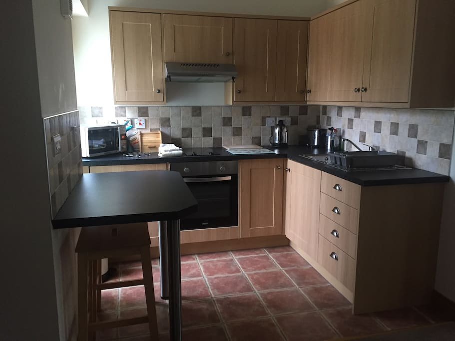 Our fully fitted kitchen