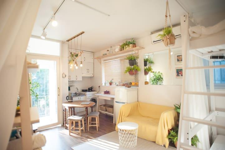 Itaewon❤️ Garden Studio