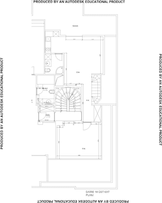 ev planı 2.kat