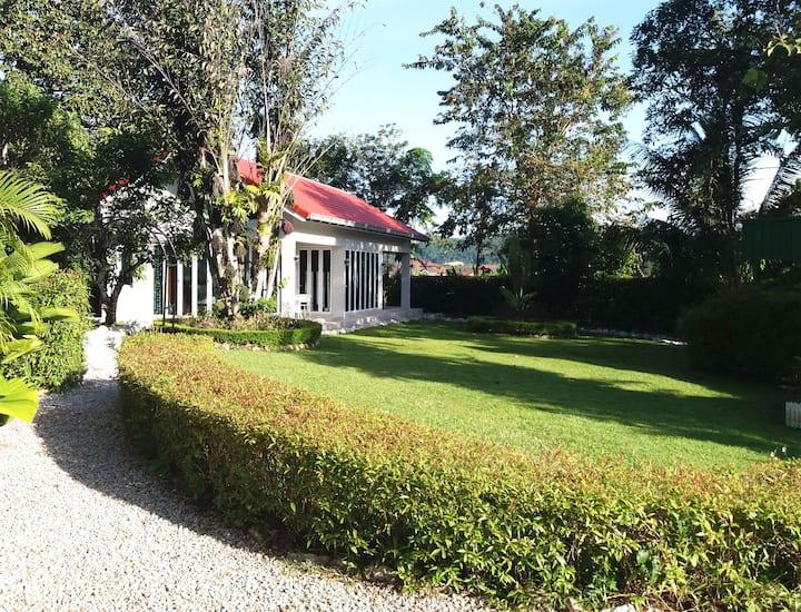 Orchard Villa Guest Cottage In Lush Green Garden 1