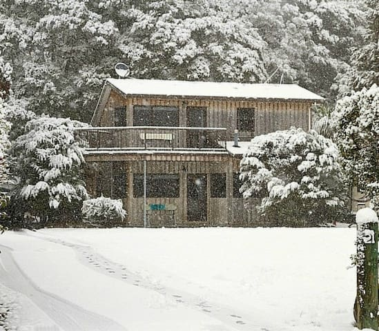 The Hut - Ohakune Adventure Retreat - Ohakune - Casa