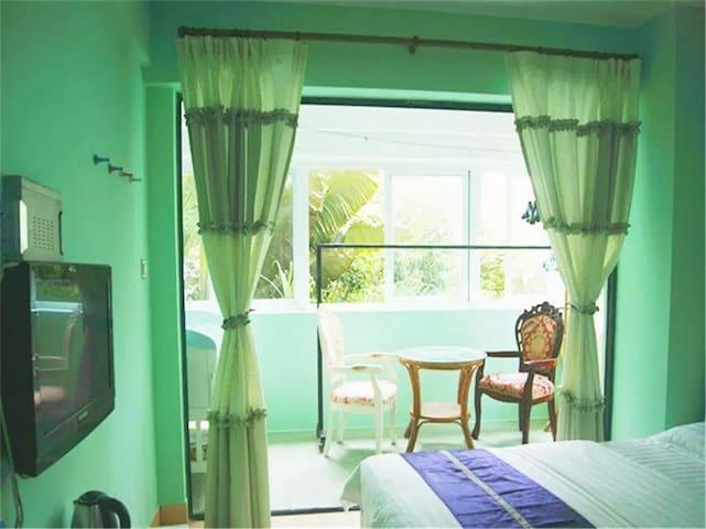 大东海椰海度假公寓清爽大床房