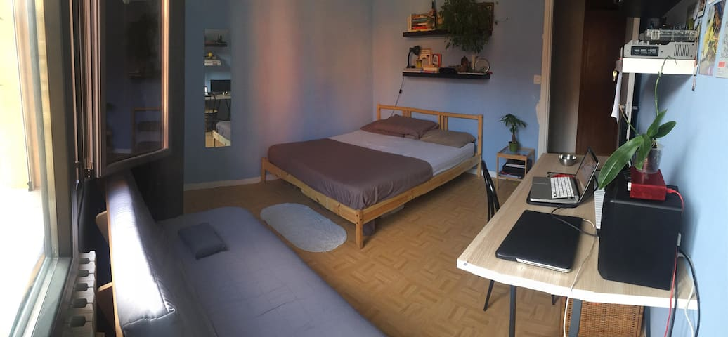 Friendly house with a private bright room