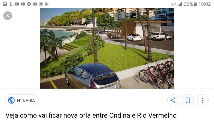 Salvador- Rio Vermelho  próx ao MAR