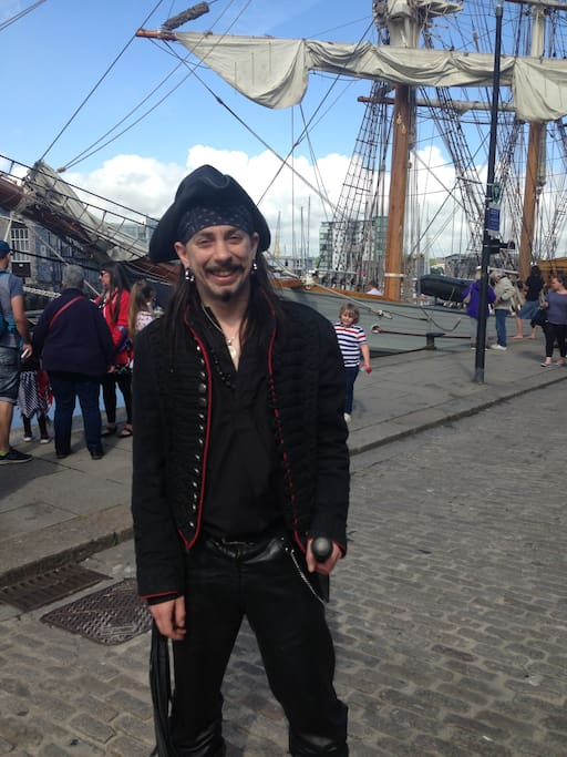 Pirates day on the hoe