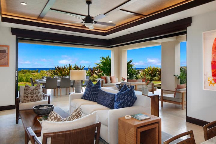 Perfection in Poipu—the ultimate in luxurious indoor-outdoor living