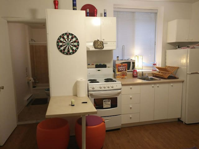 Clean and small studio downtown - Montréal - Apartment