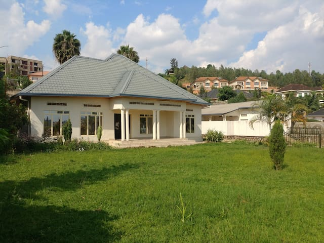 la villa de Kibagabaga