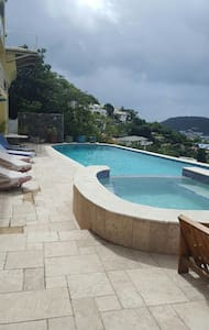 Villa Bora  1 bed apt  with  world class views - Cole Bay - Apartment