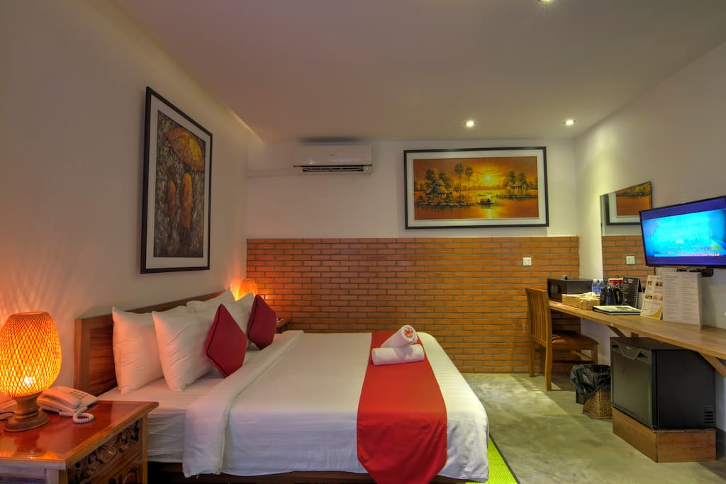 This is one of the Deluxe Room we offer.