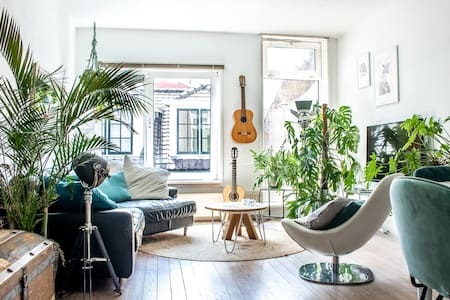 Large Apartment in city center of Haarlem