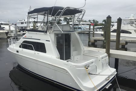 31 Foot Boat in World Class Marina - Fort Lauderdale