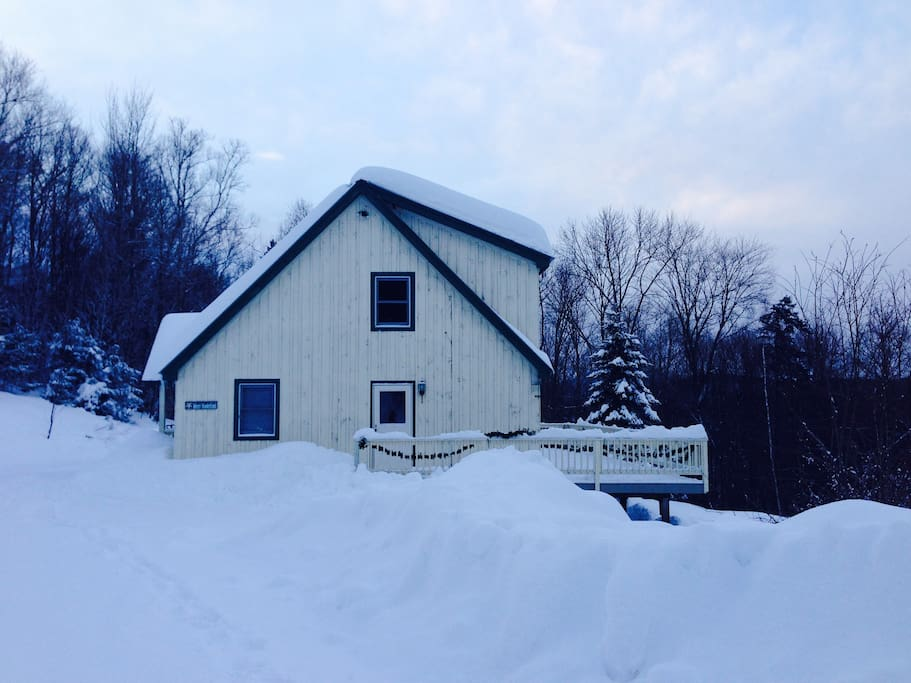 ski cabin on 90 acres near stratton bromley houses for