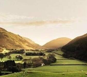 Ty popty .picturesque views. own garden, Snowdonia