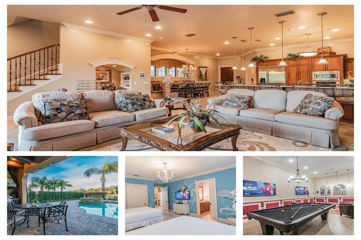 5BR Home in Reunion Resort, Private Pool. Monthly