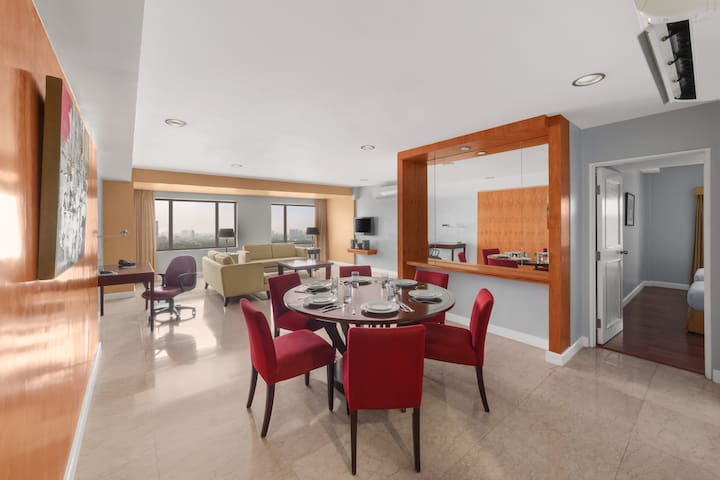Spacious Two-Bedroom Suite at The Linden Suites