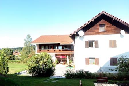 Doppelzimmer in Pension, Bayerischer Wald