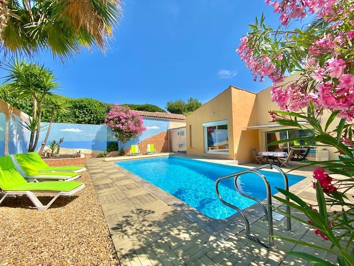 Villa Individuelle - Piscine privée - Cap d'Agde