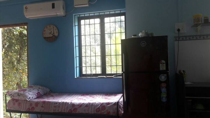 For Long Stay Studio House at Assagao, Mapusa, Goa