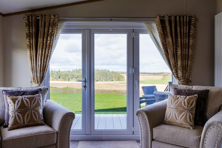 Luxury Lodge with hot tub - St Andrews