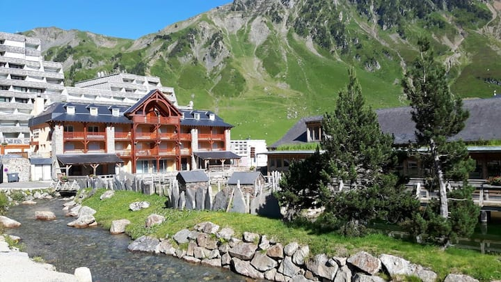 Grand appartement, 107 m2,  standing, La Mongie