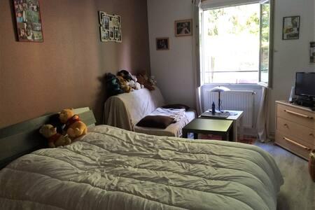 Chambre 25m² avec sdb privée, proche aéroport - Beauvais