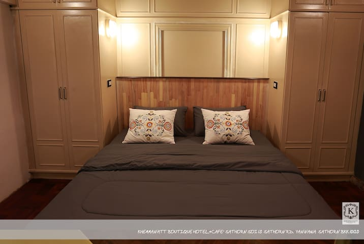 Khemmanatt Boutique Hotel and Cafe' Room # No.4 - Bangkok - Bed & Breakfast