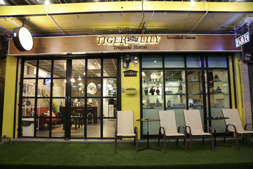 Tiger Lily Room For 8 People Hostels For Rent In Bangkok