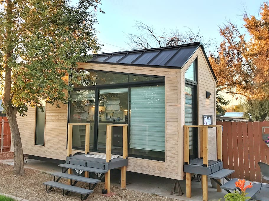 The Nest Tiny House A Downtown Retreat Tiny Houses For Rent In Phoenix Arizona United States