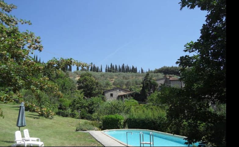 Il Muretto Mugello country!Wi fi and swimming pool