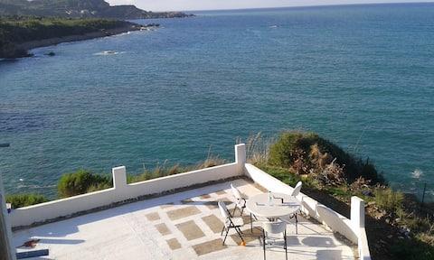 Maison de charme directement face à la mer