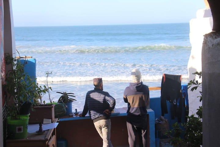 "Imsouane Beach House ""Chez Hafid"" - Seaview Room"