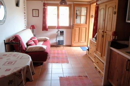 Cosy studio in a typical savoyard village - Essert-Romand