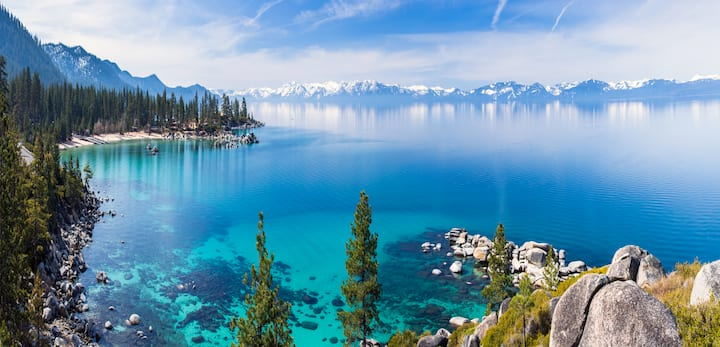 Skyfall at Lake Tahoe - Stunning Lake Views