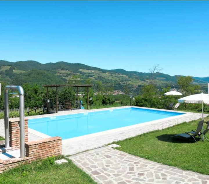 House with one bedroom in Vesime, with shared pool, furnished terrace and WiFi - 65 km from the beach