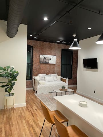 Modern Style Studio Located in Downtown NB