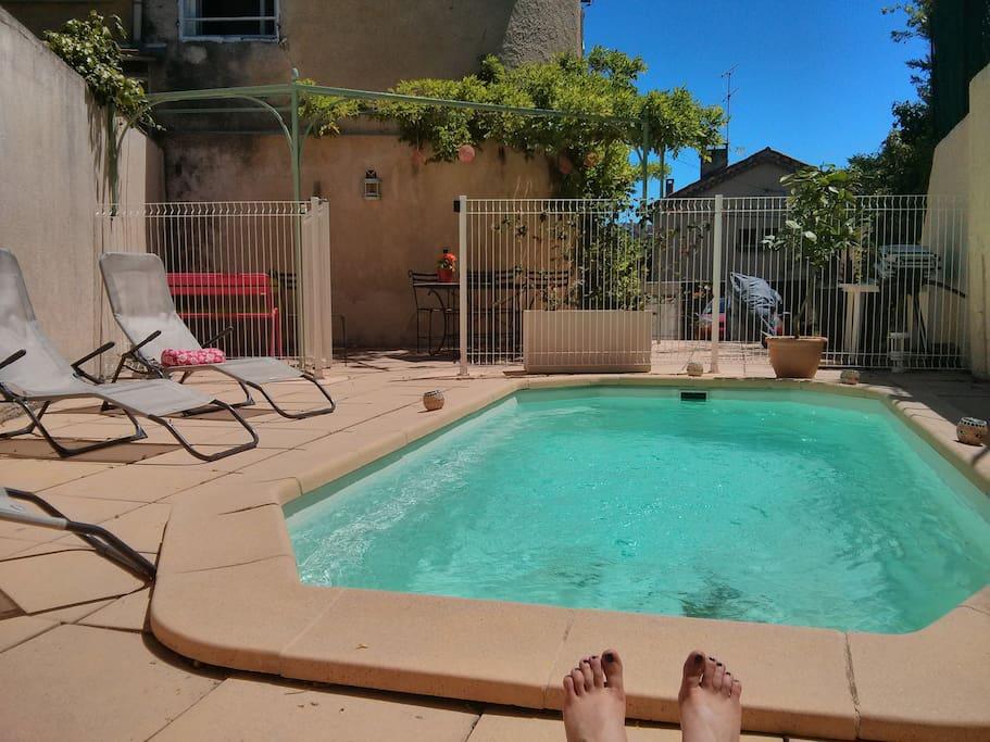 Maison De Village Pied Garlaban Maisons Louer Of Piscine Provence
