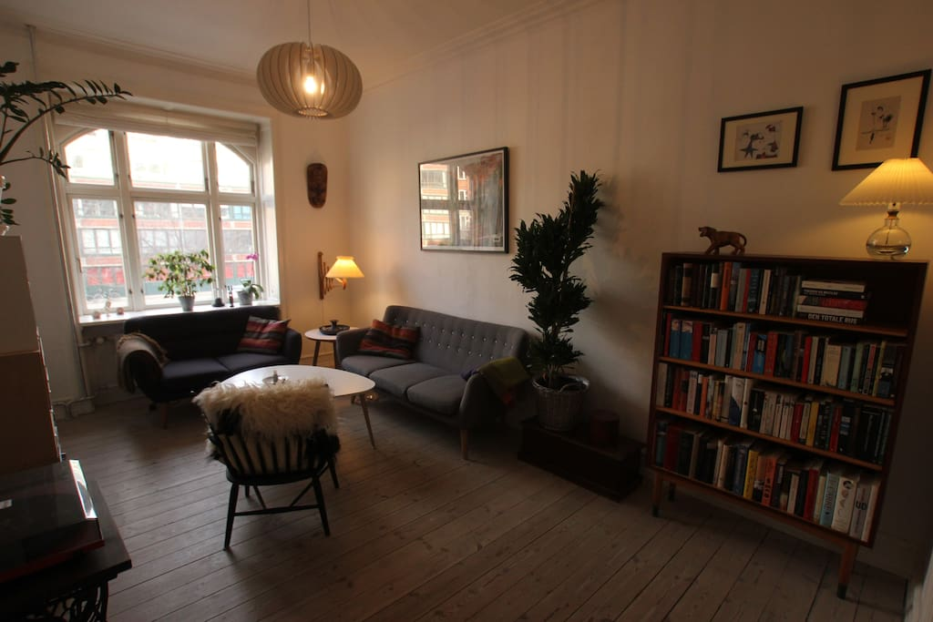 The cozy living room